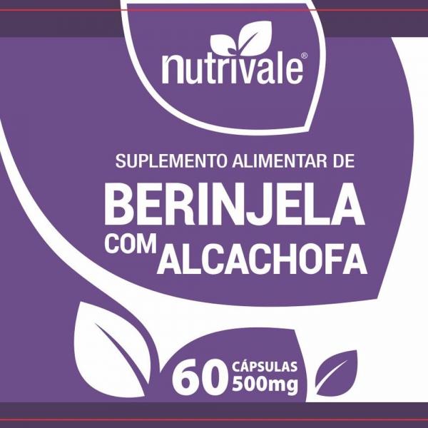 Berinjela com Alcachofa 60 Cápsulas