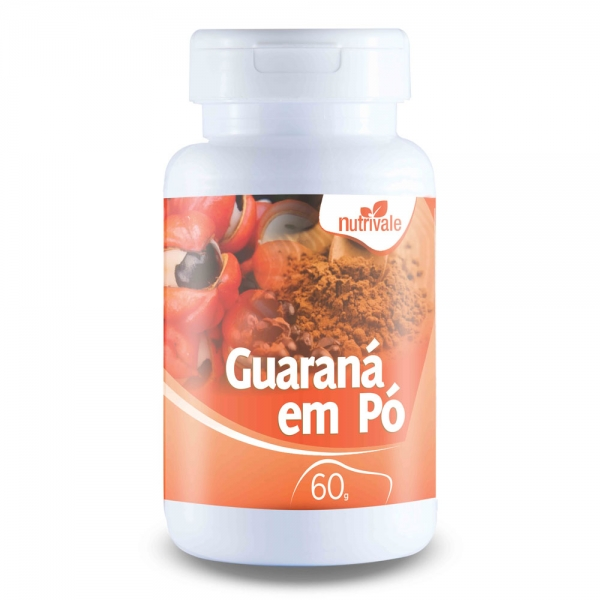 Guaraná em Pó 60 gramas