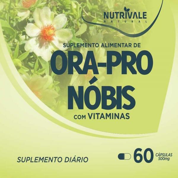 Ora Pro Nóbis 500mg Nutrivale