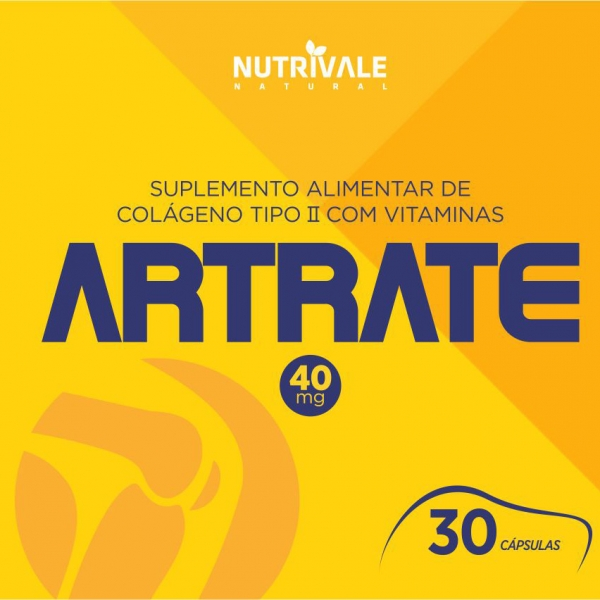 Artrate - Colágeno Tipo II 40mg