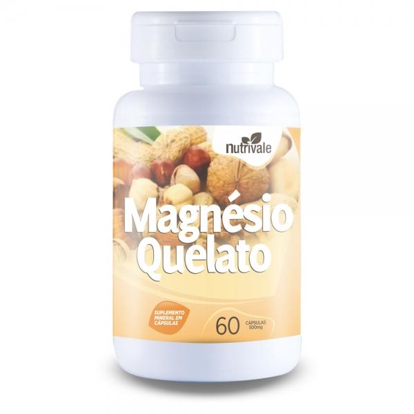 Magnésio Quelato 500mg
