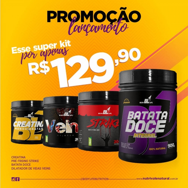 Kit Promocional BodyLife