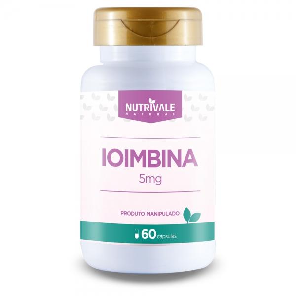 Ioimbina 5 mg Nutrivale 60 Cápsulas