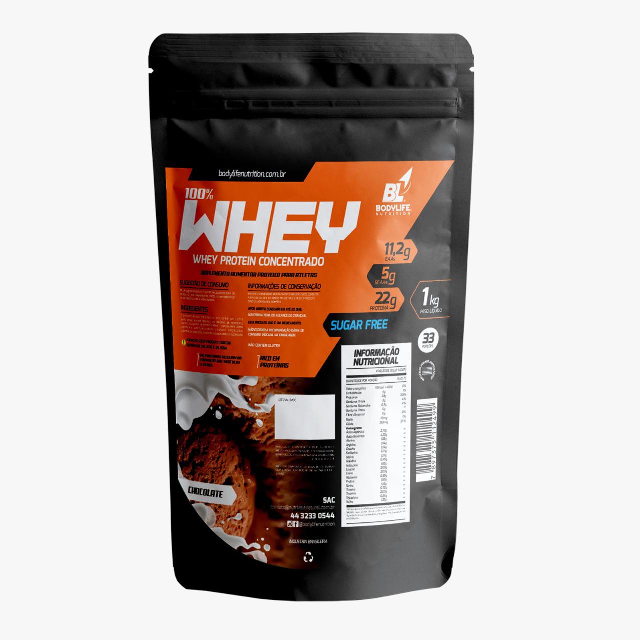 Whey Protein Concentrado 1 Kg